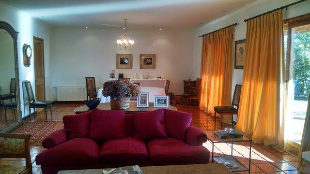 Vista del Living del Hotel Santa Filomena